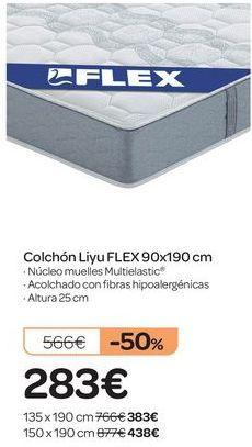 Oferta de Colchón Liyu FLEX  por 283€