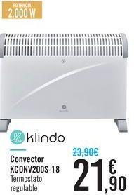 Oferta de Convector Klindo por 21.9€