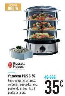 Oferta de Vaporera 19270-56 Russell Hobbs por 35€