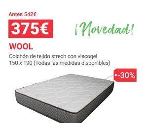 Oferta de Colchones por 375€