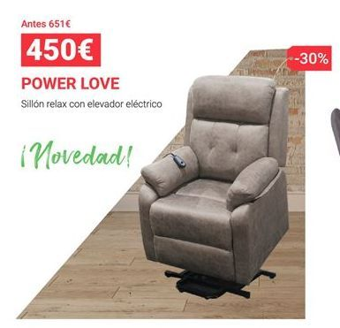 Oferta de Sillón relax por 450€