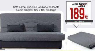 Oferta de Sofá cama por 189€