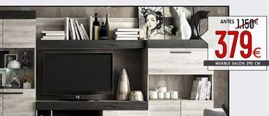 Oferta de Muebles de salón por 379€