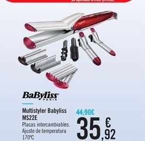 Oferta de Multistyler Babyliss MS22E Babyliss por 35.92鈧�