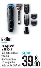 Oferta de Bodygroom MGK5045 Braun por 39.9鈧�