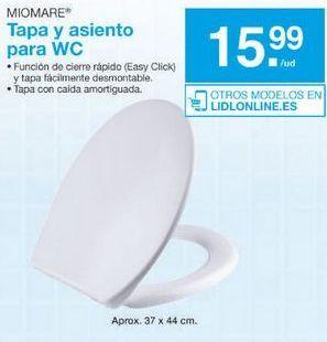 Oferta de Tapa de wc miomare por 15.99鈧�