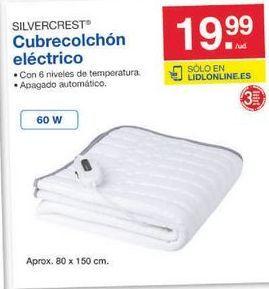 Oferta de Cubre colch贸n SilverCrest por 19.99鈧�