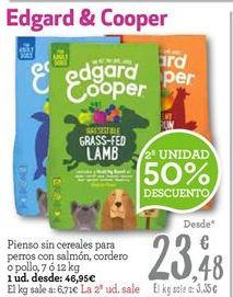 Oferta de Pienso para perros EDGAR & COOPER por 35.21€