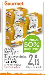 Oferta de Comida para gatos Gourmet por 3.19€