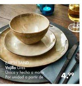 Oferta de Vajilla por 4.99€