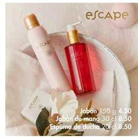 Oferta de Jabón Escape por 4.5€
