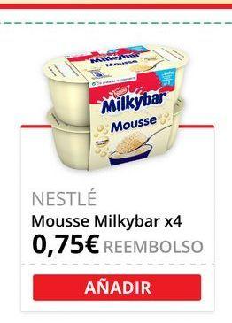 Oferta de Mousse milkybar por