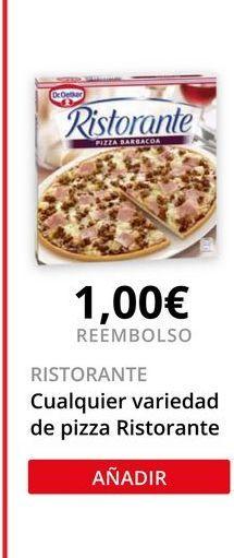 Oferta de Pizza congelada Ristorante por
