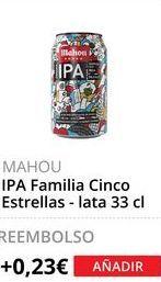 Oferta de Cerveza Mahou por