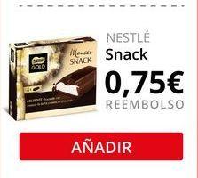 Oferta de Snacks Nestlé por