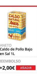 Oferta de Caldo de pollo Aneto por