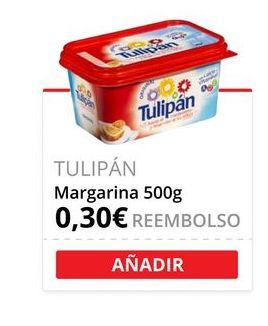 Oferta de Margarina vegetal Tulipán por