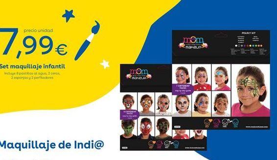 Oferta de Maquillaje infantil por 7.99€