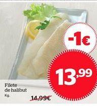 Oferta de Filete de halibut por 13.99€