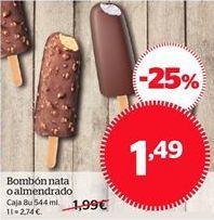 Oferta de Bombón nata o almendrado  por 1.49€
