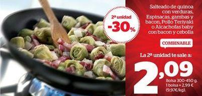 Oferta de Salteado de quinoa con verduras por 1.78€