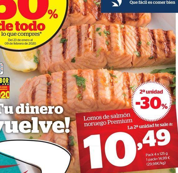 Oferta de Lomos de salmón noruego Premium por 8.92€