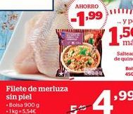 Oferta de Filetes de merluza sin piel por 4.99€