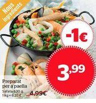 Oferta de Preparado para paella por 3.98€