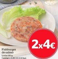 Oferta de Fishburguer de salmón por 4€