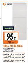Oferta de Puertas por 95€
