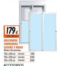 Oferta de Balconera por 179€