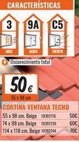 Oferta de Cortinas por 50€