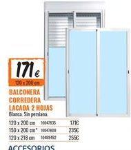 Oferta de Balconera por 171€