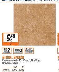 Oferta de Pavimento interior por 5.4€