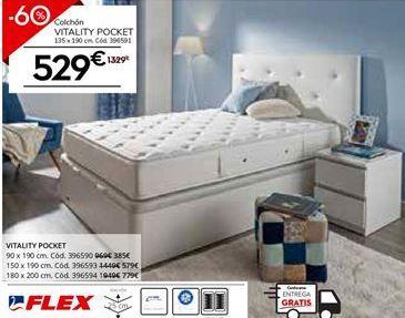 Oferta de Colchones Flex por 531.6€