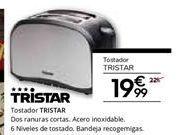 Oferta de Tostadora Tristar por 19.99€