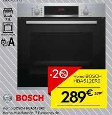 Oferta de Horno multifunción Bosch por 303.2€