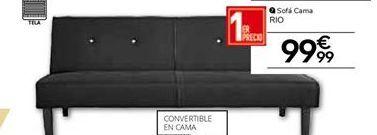Oferta de Sofá cama por 99.99€