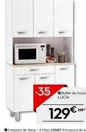 Oferta de Armario de cocina por 129.35€