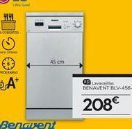 Oferta de Lavavajillas Benavent por 208€