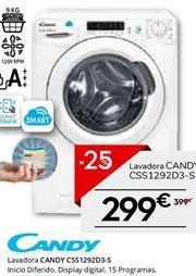 Oferta de Lavadora carga frontal Candy por 299.25€
