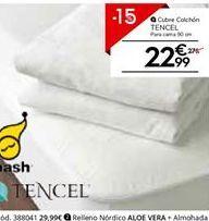 Oferta de Funda de colchón tencel por 23.79€