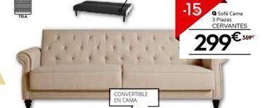 Oferta de Sofá cama por 305.15€