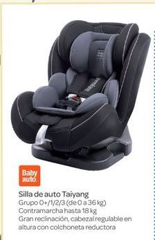 Oferta de Silla de auto Taiyang por 69€