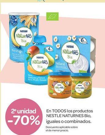 Oferta de En TODOS los productos NESTLE NATURNES Bio por