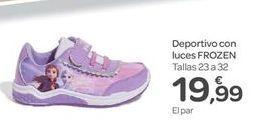 Oferta de Deportivo con luces frozen por 19.99€