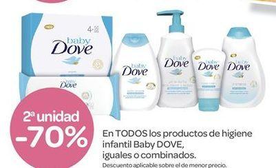 Oferta de En TODOS los productos de higiene infantil Baby DOVE por