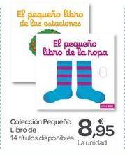 Oferta de Colección Pequeño Libro por 8.95€