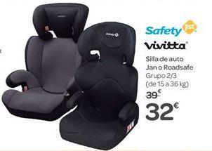 Oferta de Silla de auto Jan o Roadsafe por 32€