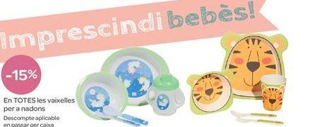Oferta de En TODAS las vajillas para bebés por